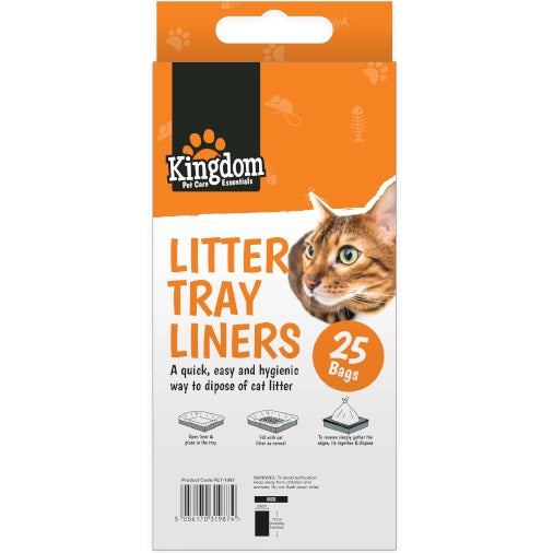 DISC Cat Litter Liners - 25 Liners