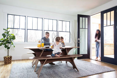 How We Built A Modern Sustainable Dining Table Affordably In America