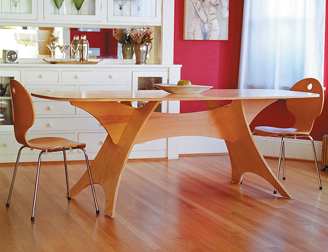Original Knock-Down Drag-Out Dining Table