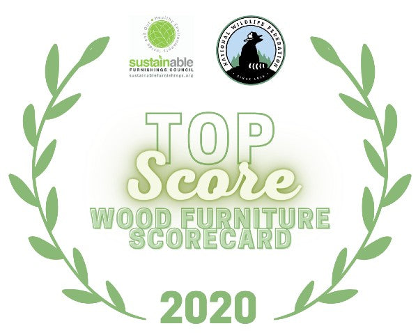 Simbly Sustainable Furniture Top Score Wood Furniture Scorecard