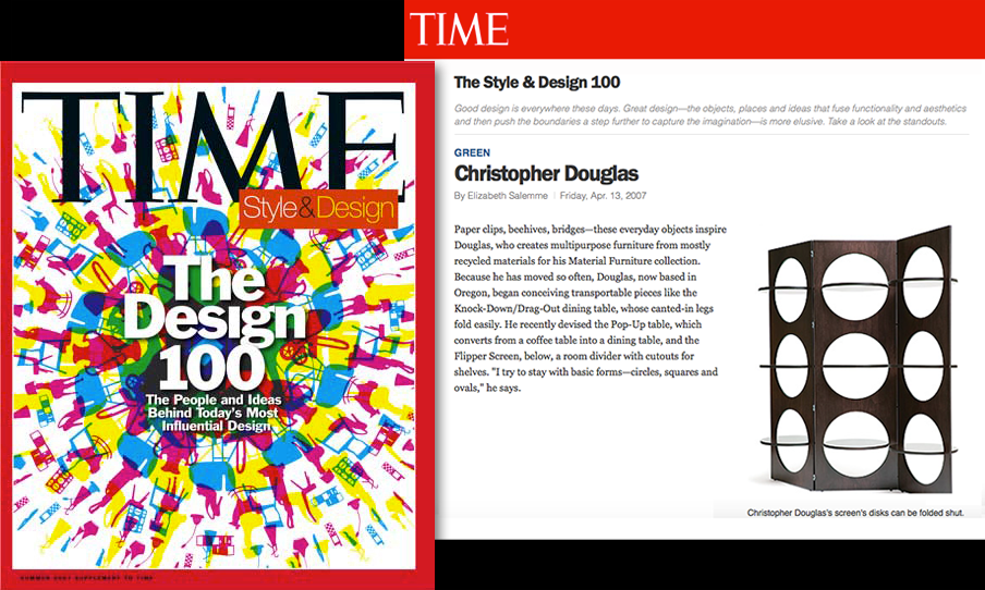 Christopher Douglas Time Style and Design 100