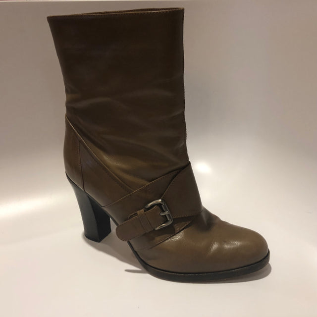 MARNI - Light Brown Ankle Boots sz 40