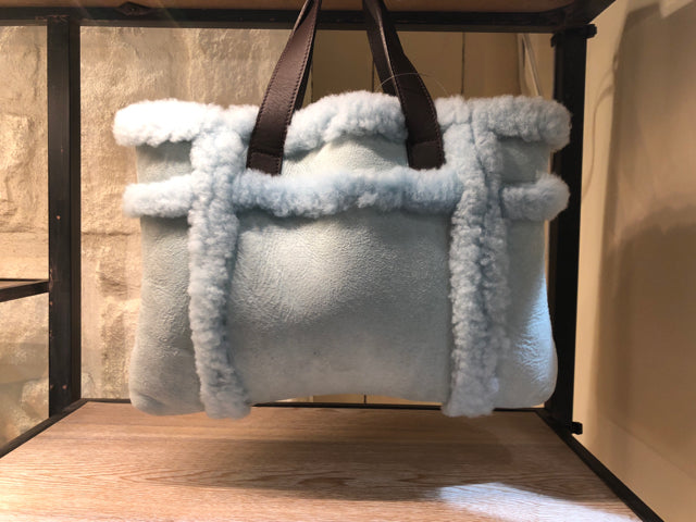UGG Baby Blue Handbag Sachel Purse