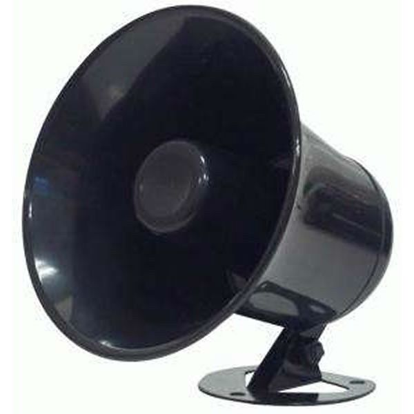 CB Radio Accessories - Black ABS Weather Proof PA Speaker Horn