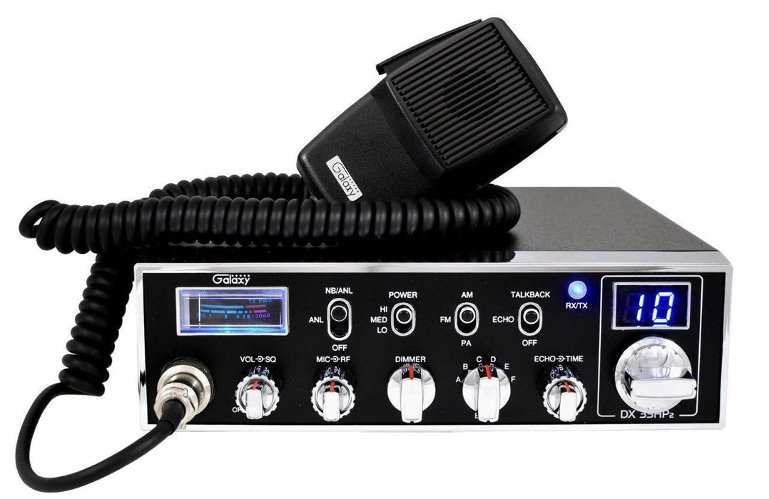 Galaxy 10 Meter Radio - Galaxy DX33HP-2
