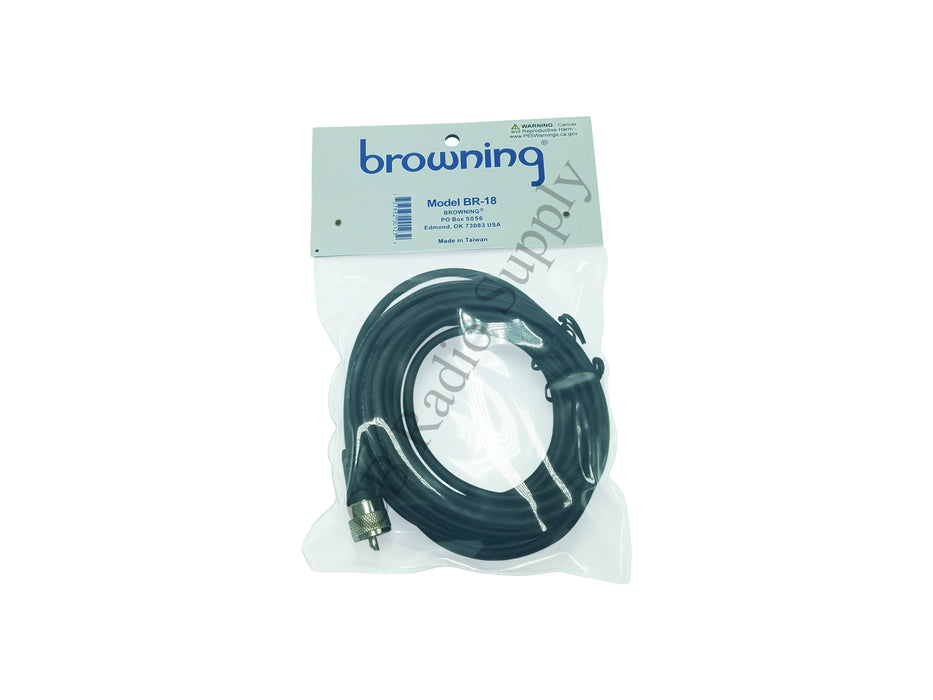 CB Radio Coax Cable - Browning BR-18 RG58 Double Shielded