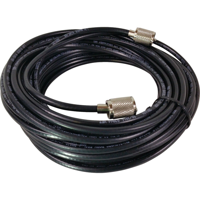 CB Radio Coax Cable - 75' ABR Industries LMR 240UF Type RG8X Base Coax Cable with Amphenol PL259 Connectors