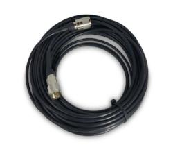 CB Radio Coax Cable - 75' RG58 A/U Tram Browning Base Coax Cable with Amphenol PL259 Connectors