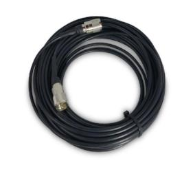 CB Radio Coax Cable - 50' RG58 A/U Tram Browning Base Coax Cable with PL259 Connectors