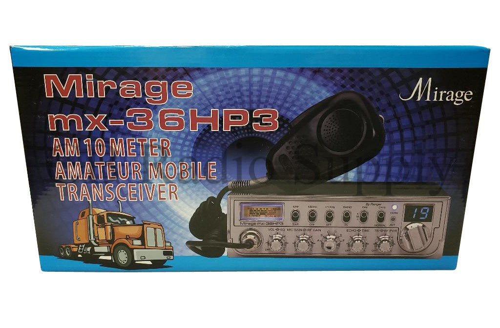 Mirage 10 Meter Radio - Mirage MX36HP3