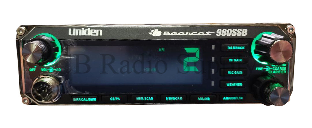 Uniden CB Radio - Uniden BC-980 AM/SSB Bearcat Single Sideband CB Radio