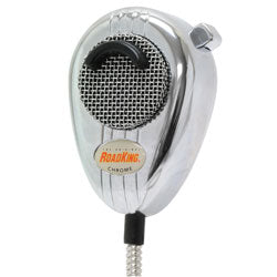 CB Radio Microphone - RoadKing Chrome Dynamic Microphone RK56CHSS