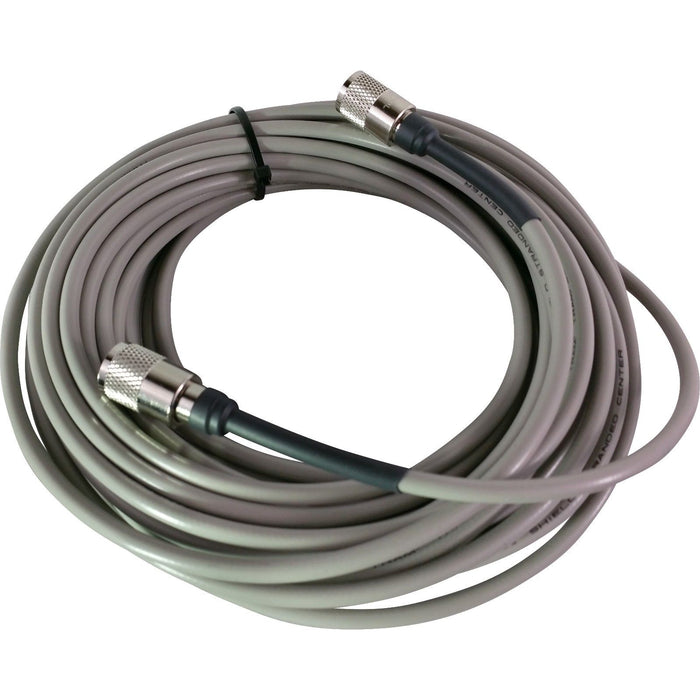 CB Radio Coax Cable - 50' Tramflex RG8X Grey Tram Browning Base Coax Cable with Amphenol PL259 Connectors