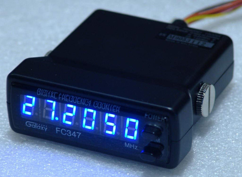 CB Radio Accessories - Galaxy 6 Digit Frequency Counter (Blue) FC347