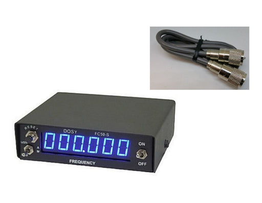 CB Radio Accessories - Dosy FC-50SP 6-digit Frequency Counter for Single Side Band with Jumper Cable