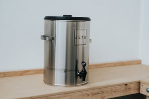 Stainless Steel Alto Cold Brew Bucket