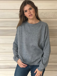 Jules Boyfriend Jumper Grey
