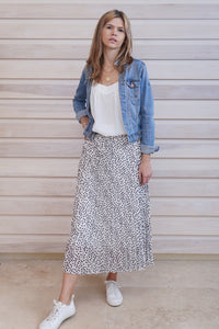 Saskia Skirt Spotty