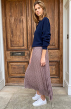 Tabitha Skirt Blue/Red