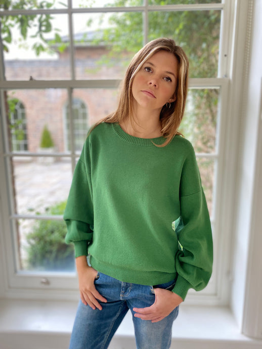 Amelie Jumper Green
