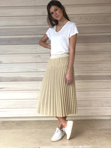 Maisie Skirt Gold