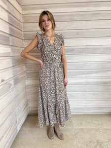 NEW IN! Aurelie Dress Taupe