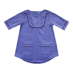 Bib Tunic Dress - Blue Ridge