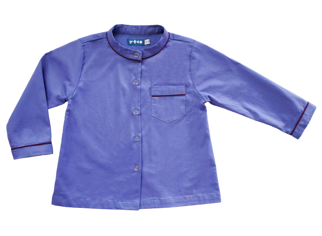 Long Sleeve Classic Top - Blue Ridge