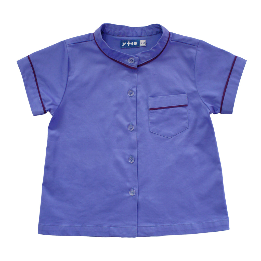 Short Sleeve Classic Top - Blue Ridge
