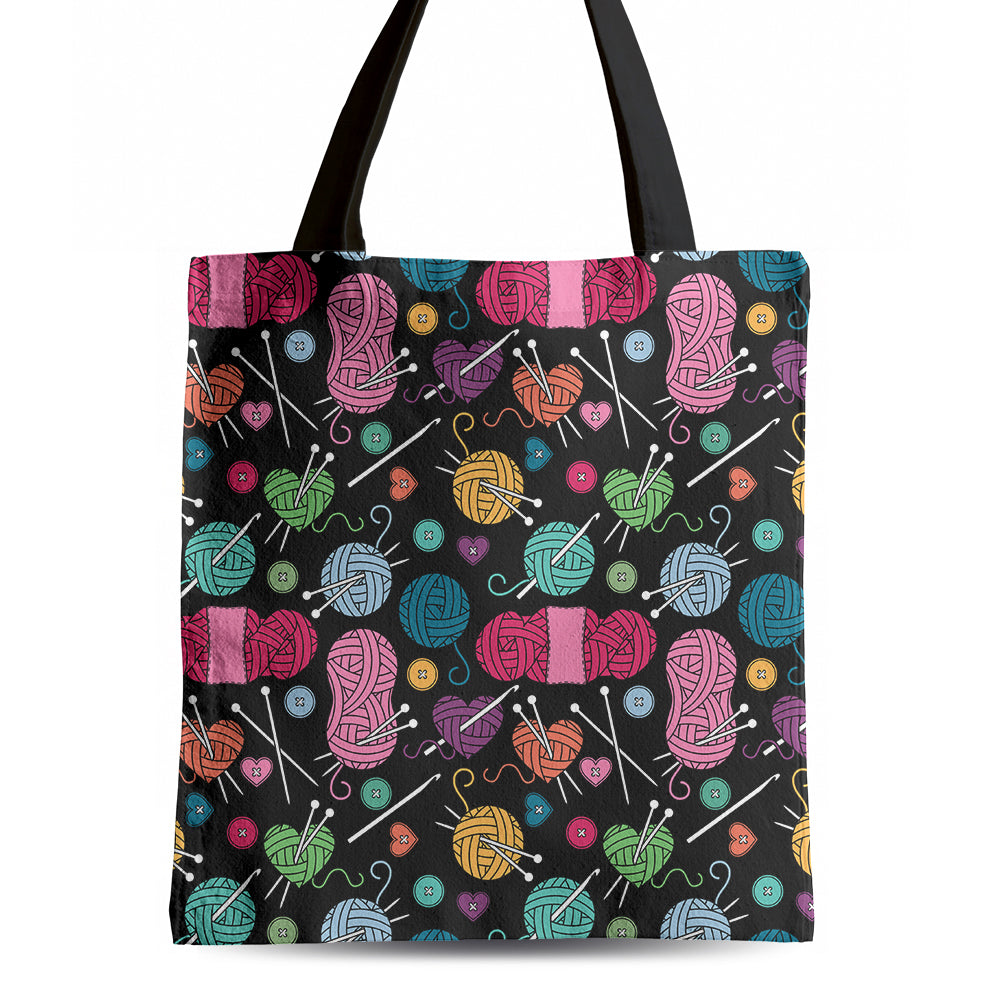 Crochet & Knitting - Tote Bag - Express Your Attitude