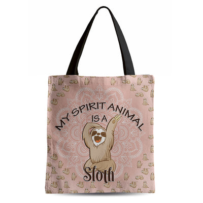 My Spirit Animal is a Sloth - Tote Bag