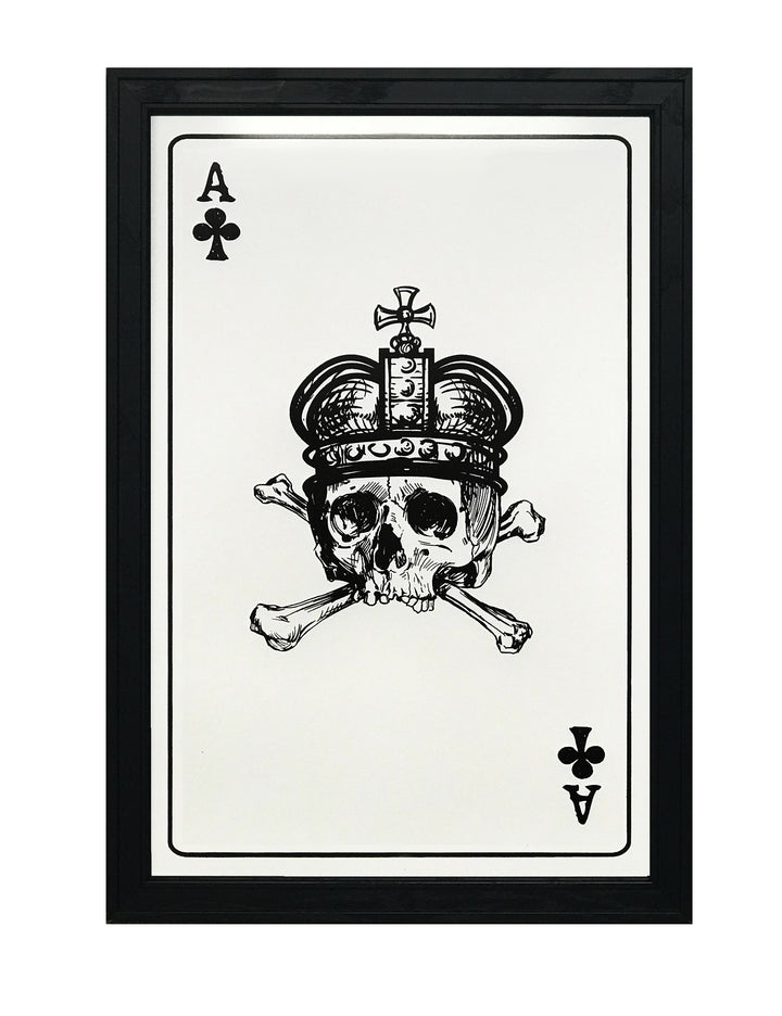 Ace of Clubs Poster Art Print - 13x19""