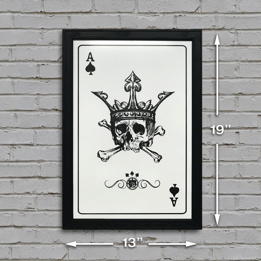 ace of spades poker room dimensional picture