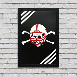 Nebraska Blackshirts College Football Poster - 13x19""