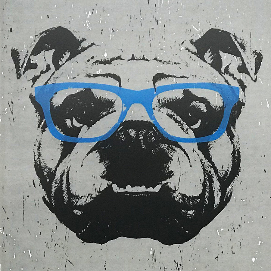 bulldog poster close up