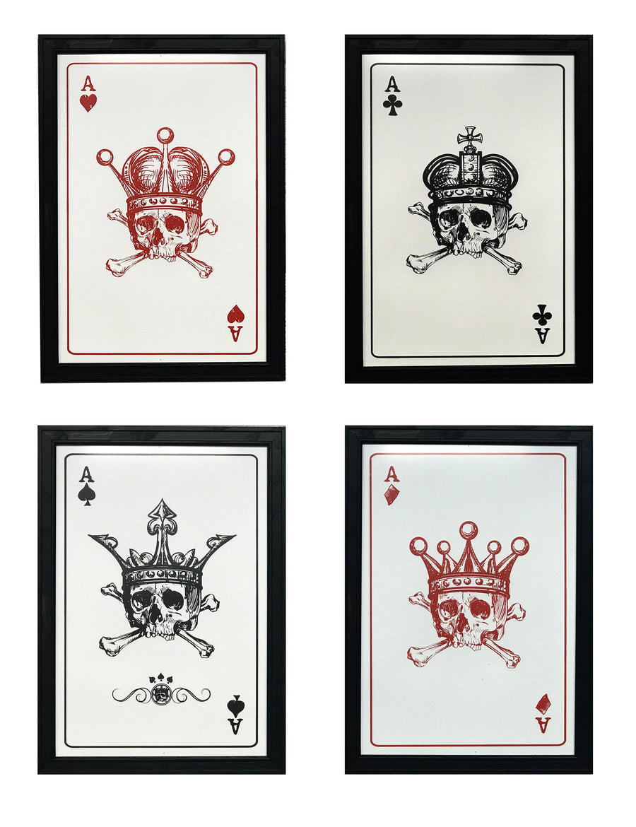 4 of a Kind - Aces Poster Art - 13x19""