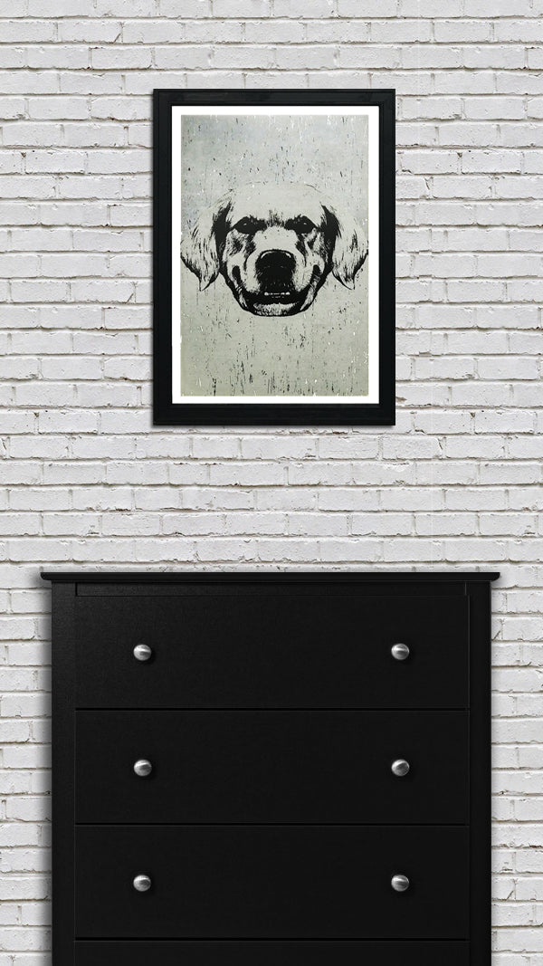 Golden Retriever Art Print / Poster - 13x19""