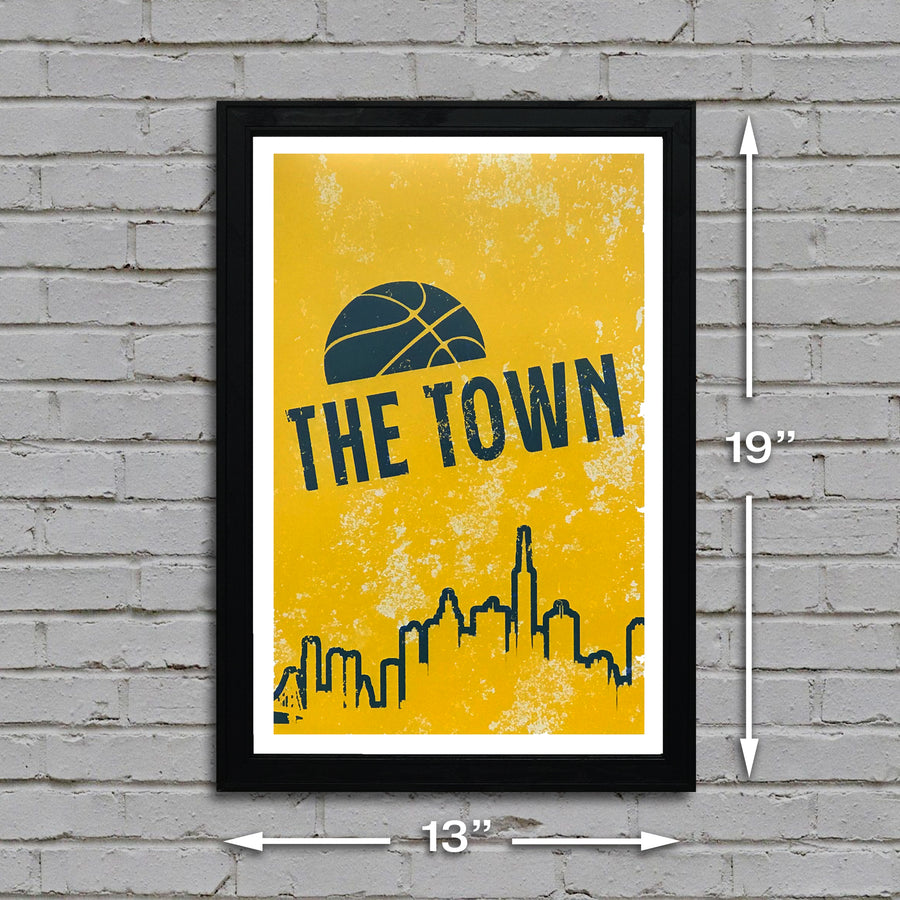 golden state warriors poster dimensions