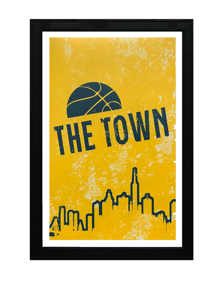 the town poster art