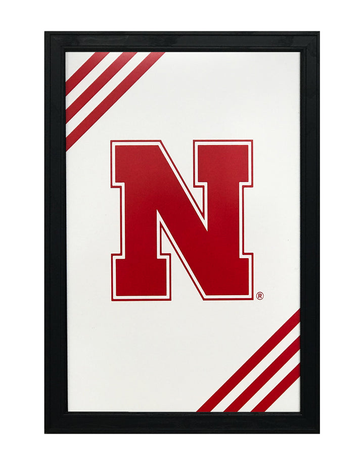 Iron N University of Nebraska Cornhuskers Poster Art - 13x19""