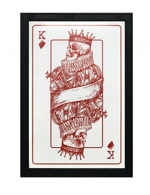 King of Diamonds Poster Art Print - 13x19""