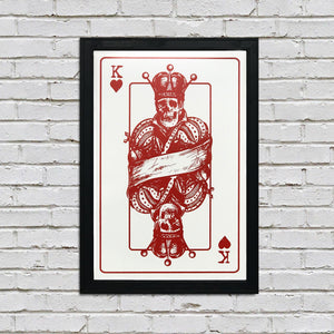 4 Kings Poster Art Print Set - 13x19""