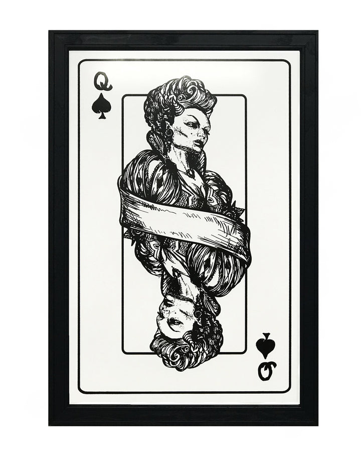Queen of Spades Poster Art Print - 13x19""