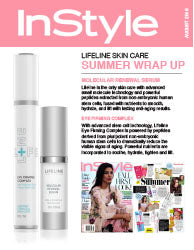 Lifeline in Press: InStyle - August 2016