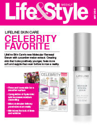 Lifeline in Press: Life & Style - May 2016