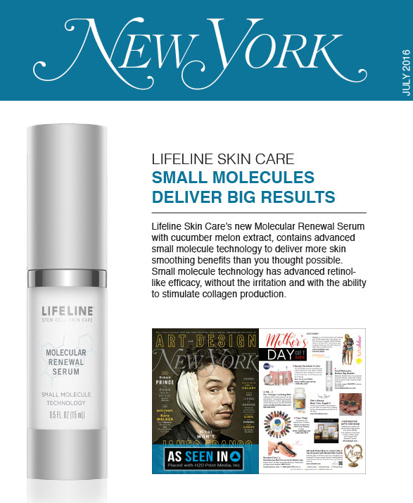 Lifeline in Press: New York - April 2016