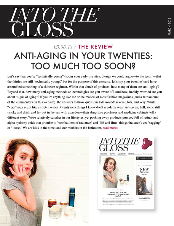 Lifeline in Press: Into the Gloss - March 2013