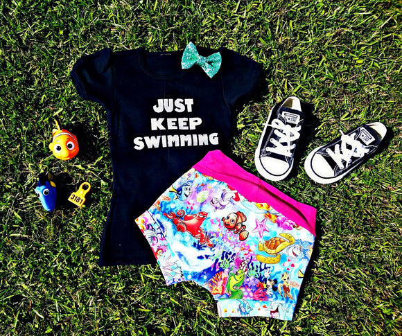 Just Keep Swimming Shirt