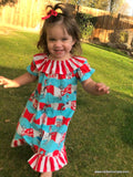 Double Ruffle Suess Dress
