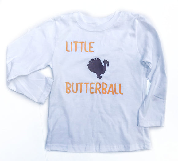 Little Butterball Tee - Thanksgiving Style